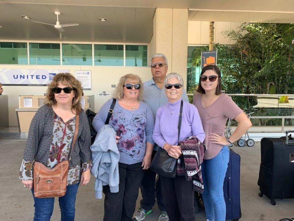 Annett B and family using Ron''s Airport Transportation from Ft Myers airport